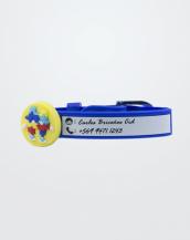 Pulsera Manuscrita Pin Autismo Azul_Texto